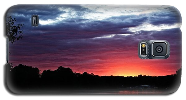 Galaxy S5 Case featuring the photograph River Glow by Dave Files