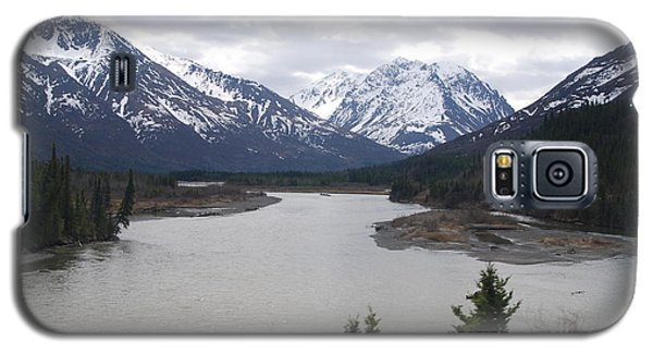 River Meets The Mountains Galaxy S5 Case