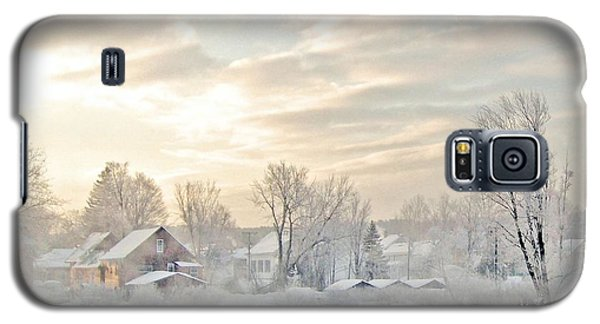 River Mist On A Very Cold New Hampshire Morning Galaxy S5 Case