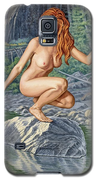 Nudes Galaxy S5 Case - River Nymph by Paul Krapf