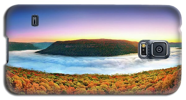 River Of Fog Galaxy S5 Case by Steven Llorca