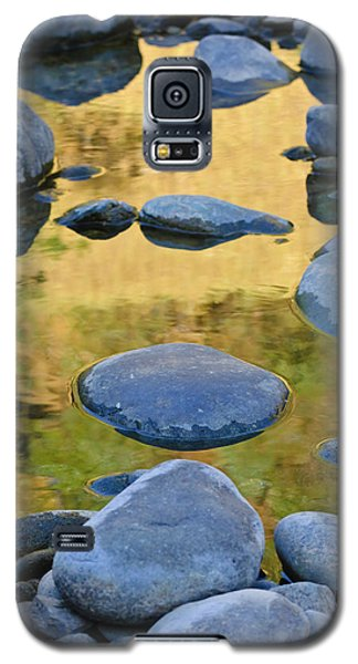 Galaxy S5 Case featuring the photograph River Of Gold by Sherri Meyer