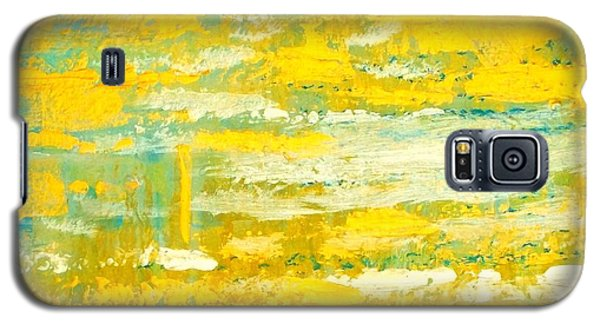 Galaxy S5 Case featuring the painting River Of Praise by Donna Dixon
