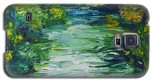 River Painting Galaxy S5 Case