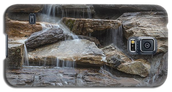River Rock Waterfall Galaxy S5 Case