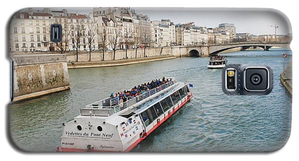 River Seine Excursion Boats Galaxy S5 Case