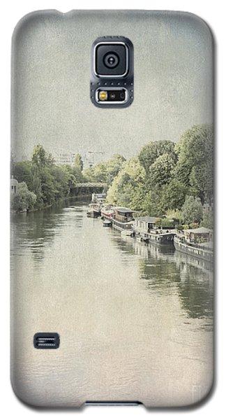 River Seine In Paris Galaxy S5 Case