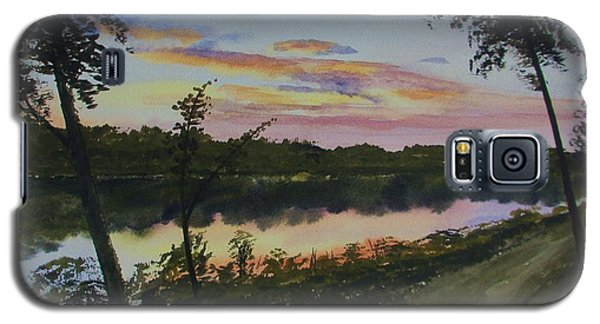 River Sunset Galaxy S5 Case by Martin Howard