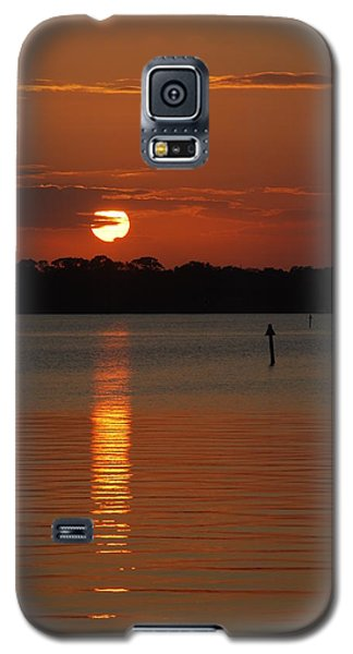 River Sunset Galaxy S5 Case