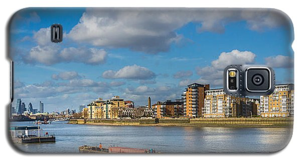 River Thames At Greenwich Galaxy S5 Case