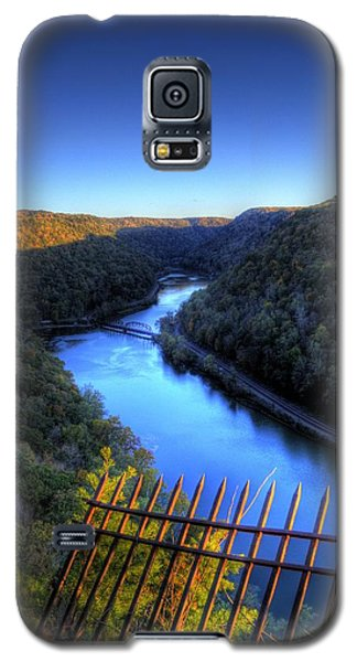 Galaxy S5 Case featuring the photograph River Through A Valley by Jonny D