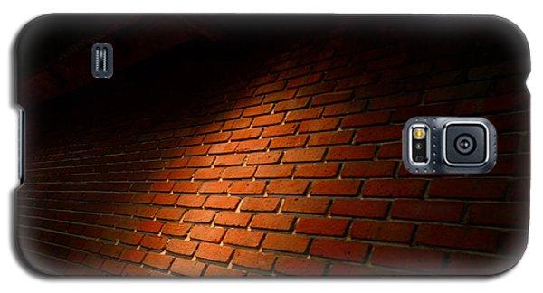 River Walk Brick Wall Galaxy S5 Case by Shawn Marlow