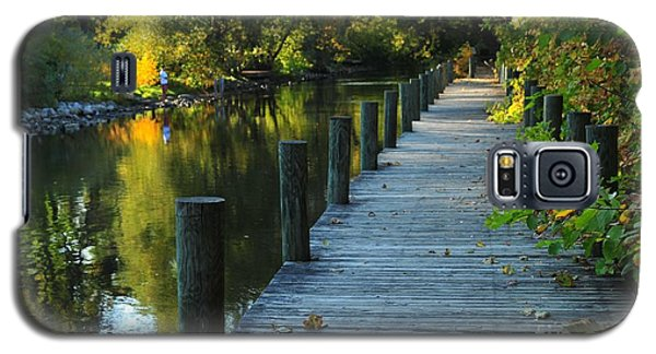 River Walk In Traverse City Michigan Galaxy S5 Case