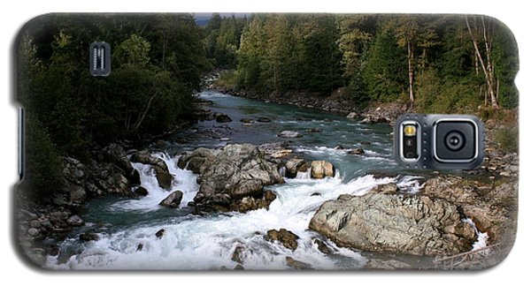 River Whistler Mountains Galaxy S5 Case