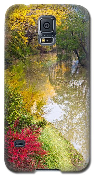 River With Autumn Colors Galaxy S5 Case
