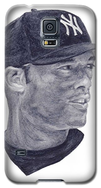 Galaxy S5 Case featuring the painting Rivera by Tamir Barkan