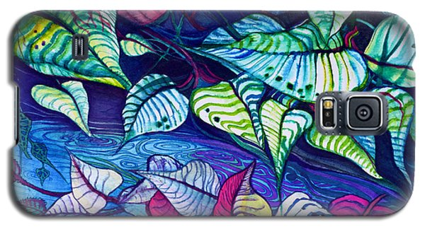 Riverbank Foliage Galaxy S5 Case by Adria Trail