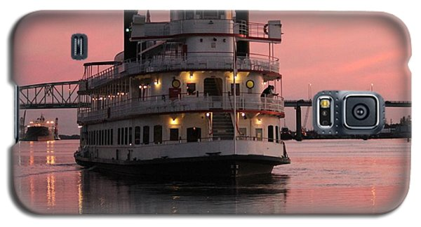 Riverboat At Sunset Galaxy S5 Case