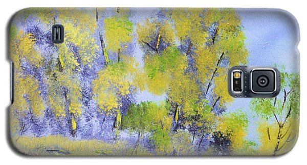 Galaxy S5 Case featuring the painting River's Edge by Michael Daniels