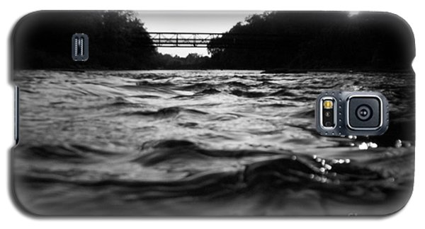 Galaxy S5 Case featuring the photograph Rivers Edge by Michael Krek