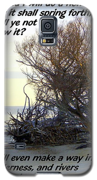 Rivers In The Desert Galaxy S5 Case