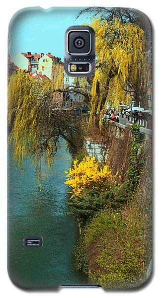Riverside Walks Ljubljanica Galaxy S5 Case