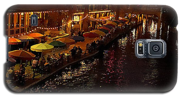 Riverwalk Night Galaxy S5 Case