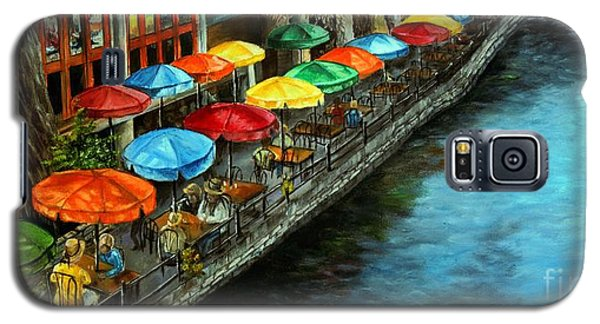 Riverwalk San Antonio Galaxy S5 Case by Anna-maria Dickinson