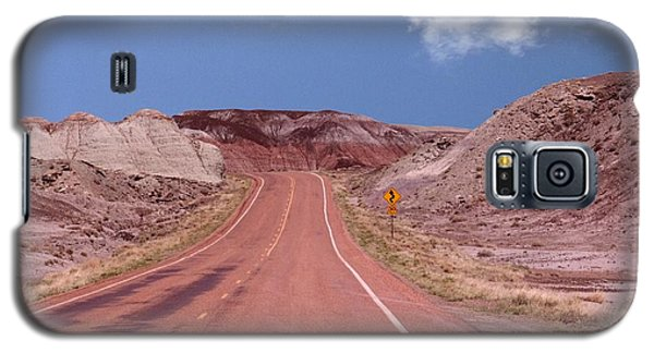 Road Curves Galaxy S5 Case