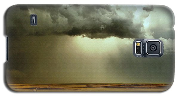 Road Into The Storm Galaxy S5 Case by Steven Reed