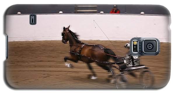 Galaxy S5 Case featuring the photograph Road Pony At Speed by Carol Lynn Coronios