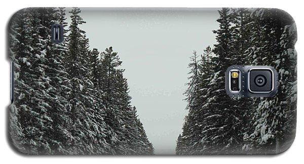 Road To Banff Galaxy S5 Case by Cheryl Miller