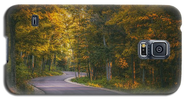 Road To Cave Point Galaxy S5 Case