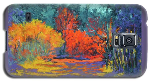 Galaxy S5 Case featuring the painting Road To Deer Creek by Nancy Jolley