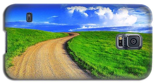 Landscapes Galaxy S5 Case - Road To Heaven by Kadek Susanto