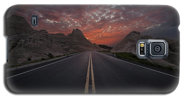 Road To Nowhere Badlands Galaxy S5 Case