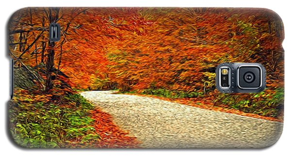 Galaxy S5 Case featuring the photograph Road To Nowhere by Bill Howard