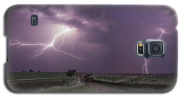 Road To Nowhere - Lightning Galaxy S5 Case