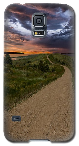 Road To Nowhere - Stormy Little Bend Galaxy S5 Case