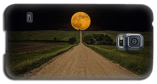 Road To Nowhere - Supermoon Galaxy S5 Case