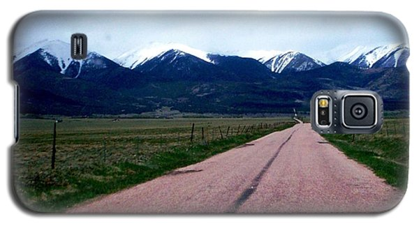 Galaxy S5 Case featuring the photograph Road To Westcliffe by Carlee Ojeda