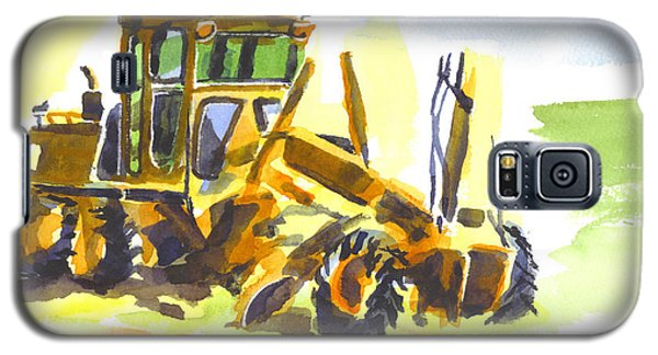 Roadmaster Tractor In Watercolor Galaxy S5 Case
