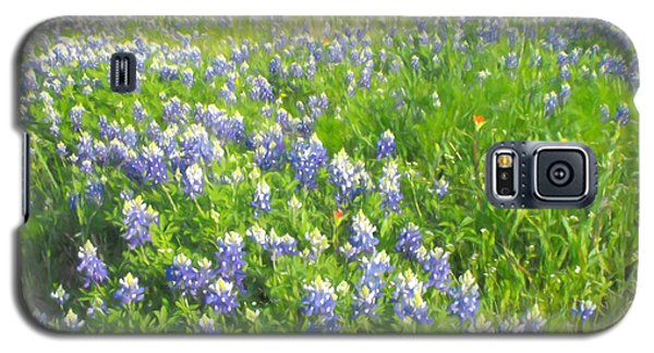 Roadside Bluebonnets  Galaxy S5 Case