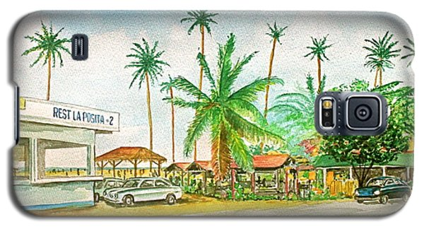 Roadside Food Stands Puerto Rico Galaxy S5 Case