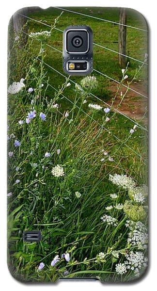 Roadside Wildflowers Galaxy S5 Case