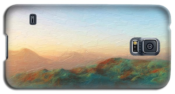 Roaming Hills And Valleys 2 Galaxy S5 Case by The Art of Marsha Charlebois