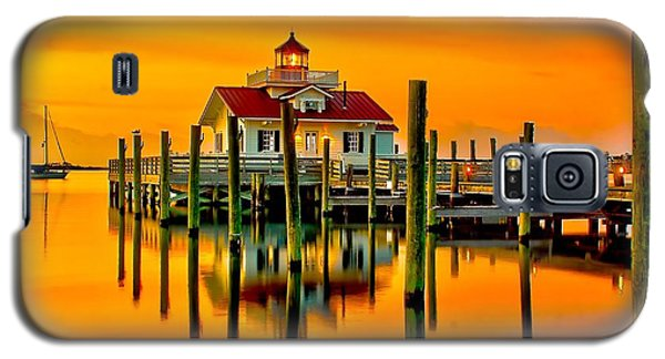 Roanoke Lighthouse Dawn Galaxy S5 Case