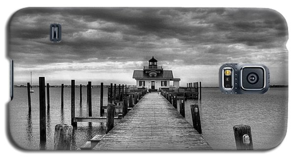 Roanoke Marshes Light 2 Bw Galaxy S5 Case