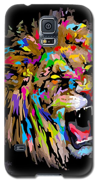 Galaxy S5 Case featuring the digital art Roar by Anthony Mwangi