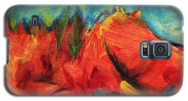 Roasted Rock Coast Galaxy S5 Case by Elizabeth Fontaine-Barr